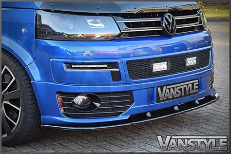 vw transporter t5 lower sportline front splitter spoiler bumper lip t5 1 add ebay
