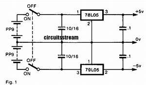 Bipolar Power Supply Circuit Diagram