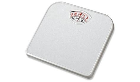 Bathroom Scale Argos by Buy Simple Value Compact Mechanical Bathroom Scale White