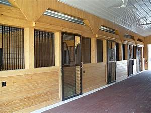 custom stall with grills and mesh precise buildings With custom horse stalls