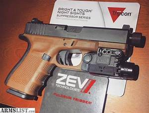 ARMSLIST - For Sale/Trade: Glock 19 Gen4 ZevTech