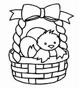 Coloring Pages Easter Basket Cute Momjunction Toddler Clover Leaf Four sketch template