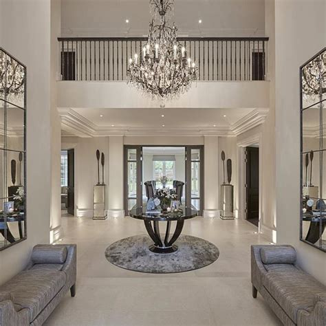 Chandelier In Hallway by Nothing Quite Like A Height Entrance With A