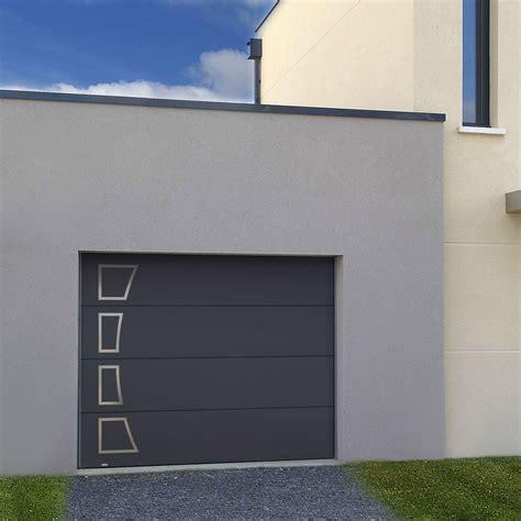Porte Garage Leroy Merlin by Porte De Garage Sectionnelle Acora Motoris 233 E H 200 X L 240