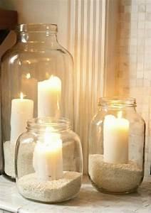 Deko Ideen Kerzen Im Glas : kerzen deko ideen ~ Bigdaddyawards.com Haus und Dekorationen