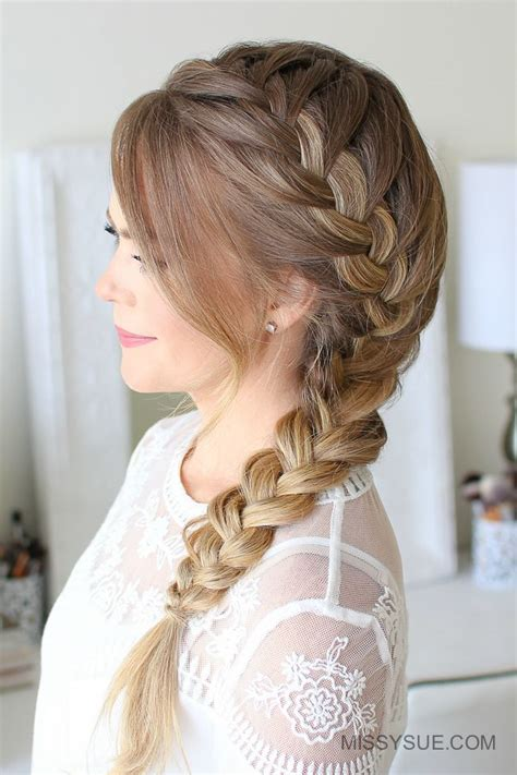 1409 best hair tutorials images on pinterest braid hair
