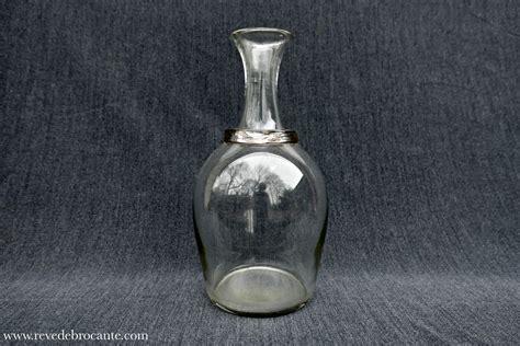 cuisine vichy carafe à cidre normande xixè en verre soufflé rêve de
