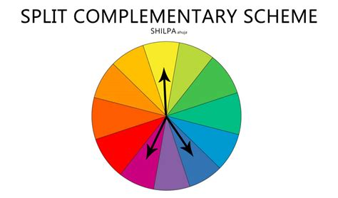 complementary color scheme definition types of color schemes color design basics every