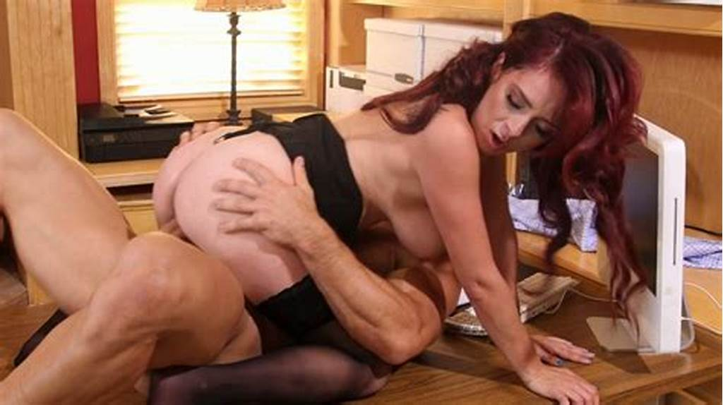 #Horny #Redhead #Bitch #In #Stockings #Ashlee #Graham #Gets
