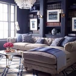 Denim Sofa Sectional by Primavera Home Com Meble Stalowe Glamour Lustrzane