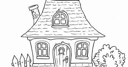 Coloring Cartoon Simple Preschool Clipart Watermark Children