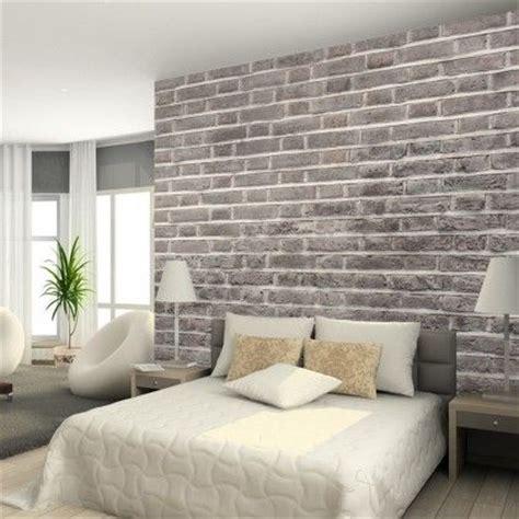 faux brick wall  house pinterest