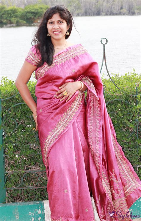 bridal silk saree archives stylebeescom