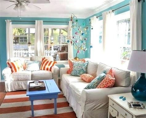 fabulous beach themed living room  guests feel