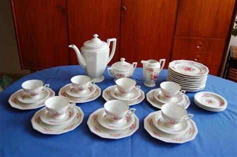 rosenthal porzellan verkaufen altes rosenthal kaffeeservice mit rosenmuster in