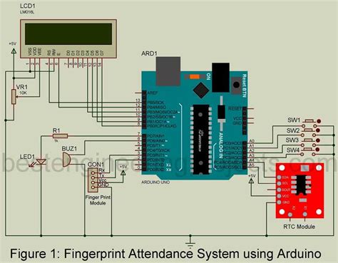attendance monitoring system   arduino diy project