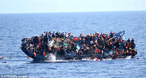Boat Sinking Libya by Europe Will Increase The Limits For Immigration From