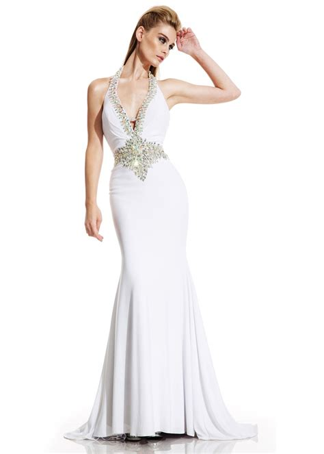 Johnathan Kayne 250 Beaded Jersey Gown | Evening dresses ...