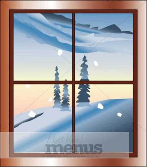 winter landscape clipart holiday clipart archive
