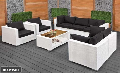 stunning salon de jardin tresser awesome salon de jardin tresser blanc ideas awesome