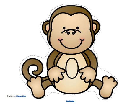 monkeys theme activities and printables for preschool and 134 | 8044727 orig