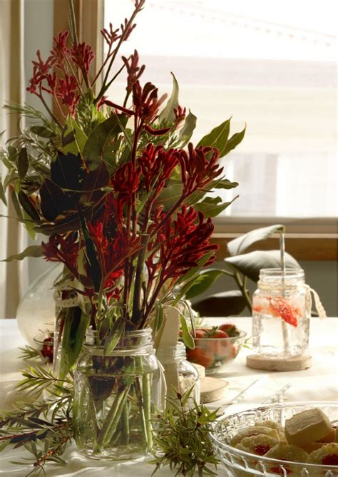 mason jar centerpieces   tickle  senses
