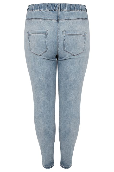 Date Post Jenny Template Responsive by Light Blue Mid Wash Jenny Jeggings Plus Size 16 To 36