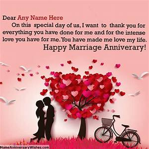 Special Day Romantic Wedding Anniversary Wishes | Love ...