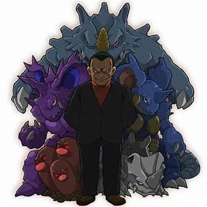 pokemon blaine ... Pokemon Giovanni Quotes