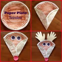 paper plate reindeer carrie rose