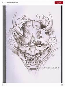 Demon Japonais Dessin : pingl par davy fortier sur manche gauche tattoo vorlagen japanische tattoos et tattoo ideen ~ Maxctalentgroup.com Avis de Voitures