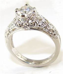 Vintage dimond rings for Vintage womens wedding rings