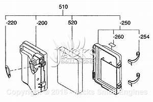 Robin  Subaru Ex300d52010 Parts Diagram For Air Cleaner