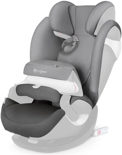 cybex pallas m fix cybex pallas m fix seat cover in manhattan grey mid 2017