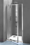 Ecrans et parois de douche comparez les prix pour for Porte douche escamotable