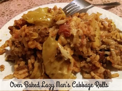 cabbage rolls in oven fantastic food recipes