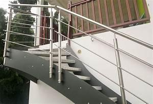 Escalier Exterieur Metal : escalier ext rieur en m tal avec garde corps nos ~ Voncanada.com Idées de Décoration
