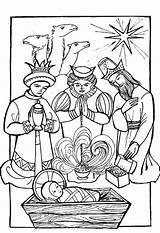 Wise Coloring Three Pages Kings Gifts Magi Christmas Crafts Jesus Bible Visit Drawing Nativity Printable Sheets Google Getcolorings Popular Colors sketch template