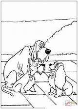 Colorare Disegni Lilli Coloring Lady Disegnare sketch template
