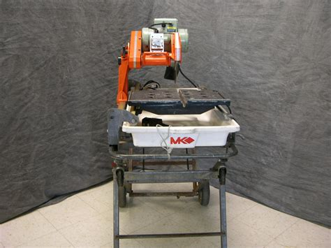 mk 101 tile saw stand tile saw w stand new blade 2007 mk mk 101 heavy