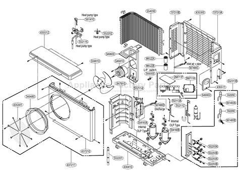 lg a mmc24fa 1 parts air conditioners