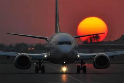 737 Boeing Cockpit Sunset 800 Airplane 500
