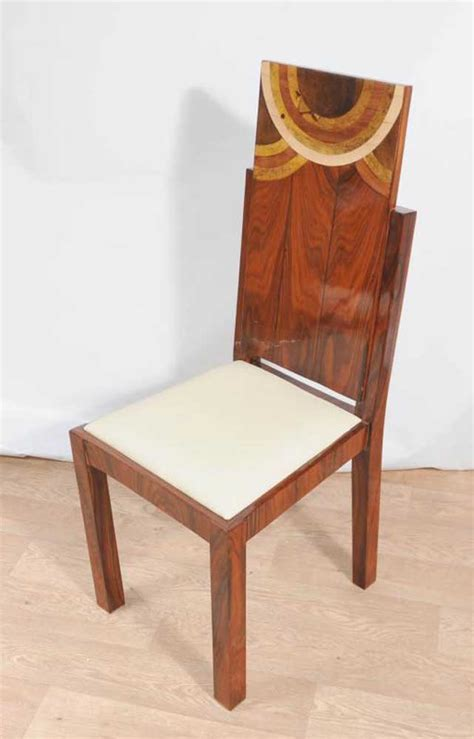set deco dining chairs inlay chair 1920s furniture