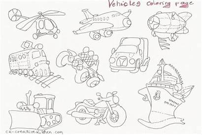 Coloring Vehicles Pages Nice Graphics
