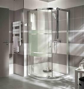douche acces d39angle arrondi modele vogue http www With porte de douche coulissante avec lave main salle de bain