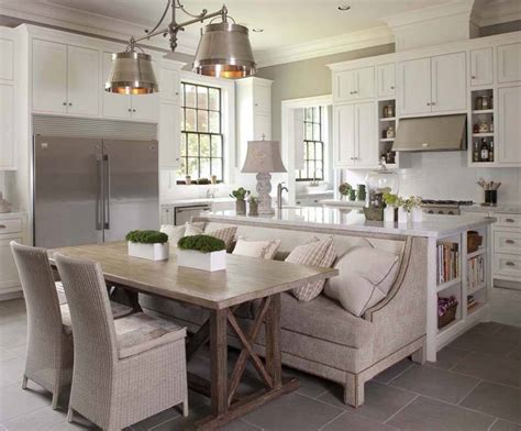 dining trestle table   kitchen island  bench