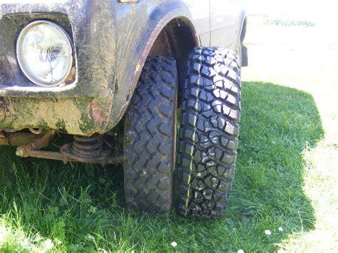test de pneu bf goodrich km