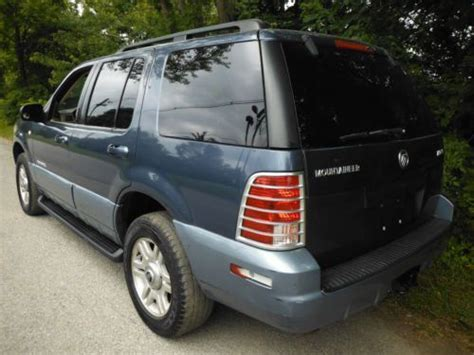 automobile air conditioning service 2003 mercury mountaineer interior lighting buy used 2002 mercury mountaineer 4dr 4x4 w powermoonroof airconditioning 4 6liter 8cyl in