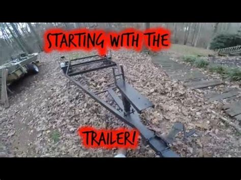 Jon Boat Trailer Rebuild by Jon Boat Trailer Rebuild Part 1 Doovi