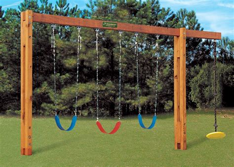 Children Swing by Freestanding Swingset Things For Backyard